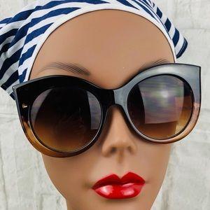 Steve Madden Cat Eye Brown Sunglasses